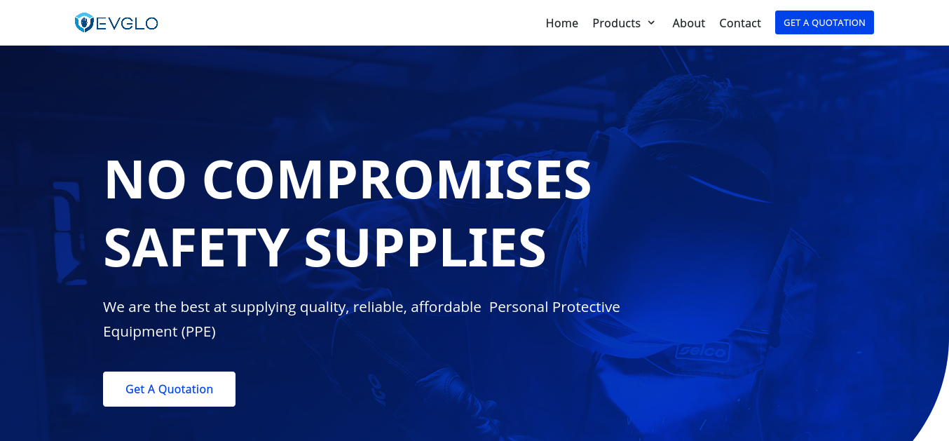 Evglo – No compromises Safety Supplies