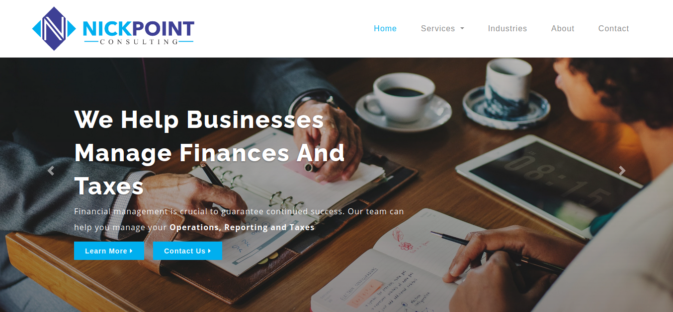 Nickpoint Premier business and financial advisory firm
